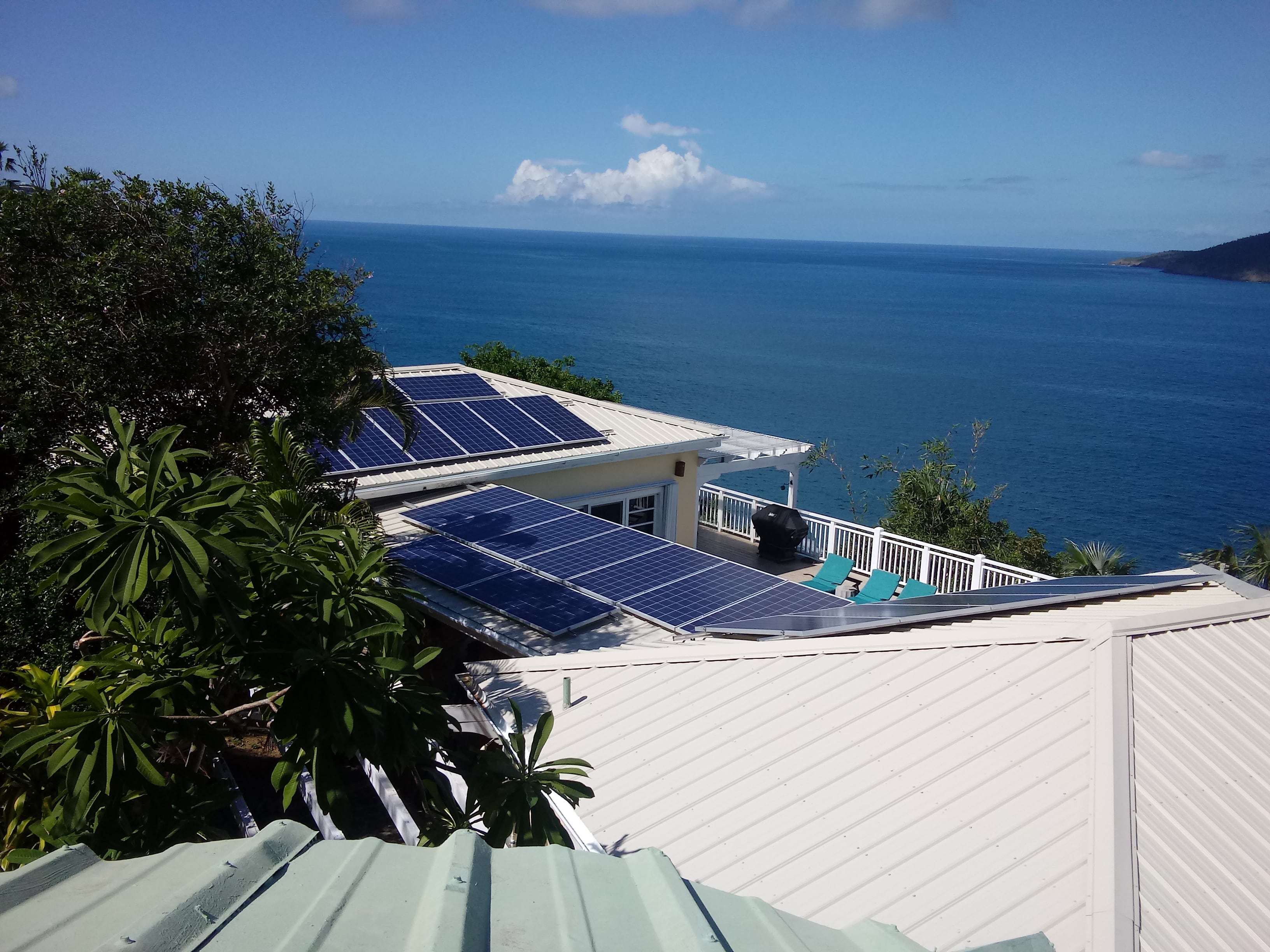 Solar Panel Battery System