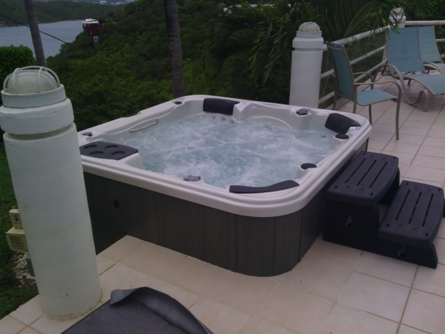 Hot Tub Installs in St. Thomas USVIl