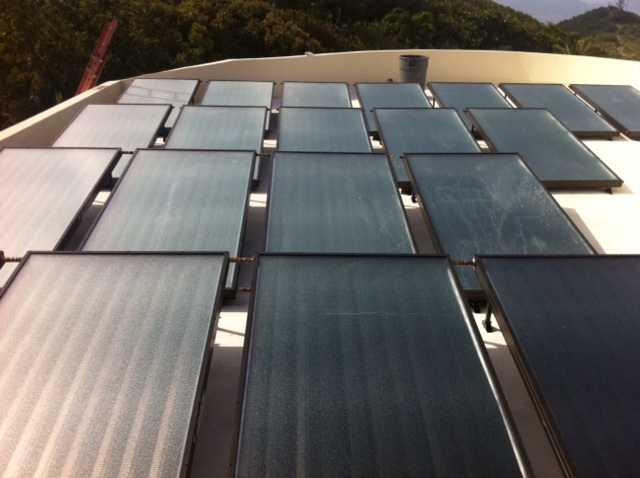 Commercial Pool Solar Heating System