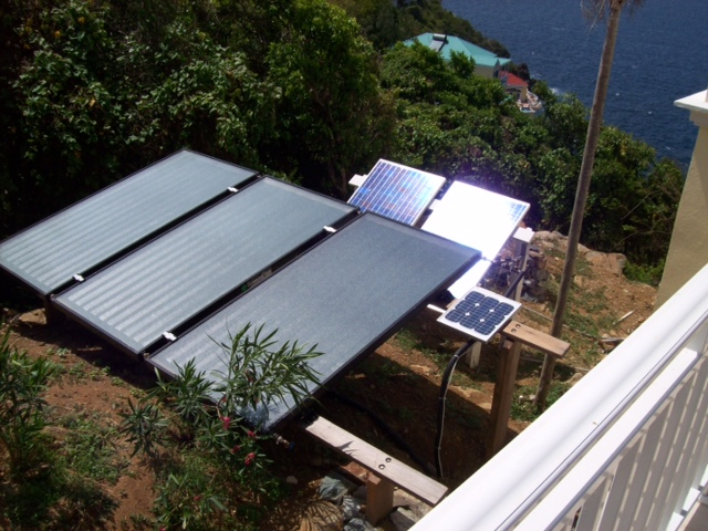 PV Pool Pump Solar Heating System